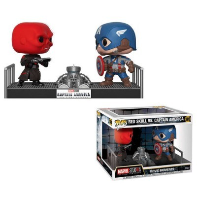 Funko! Pop Marvel Captain America vs Red Skull Movie Moment