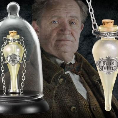 Harry Potter Felix Felicis Pendant and Display