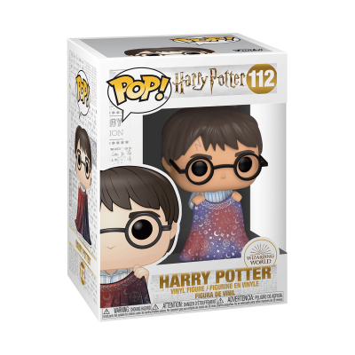 Funko POP! Harry Potter Harry Potter w/ Invisibility Cloak #112
