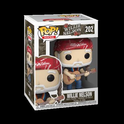 * PRÉ-RESERVA * Funko POP! Rocks Willie Nelson #202
