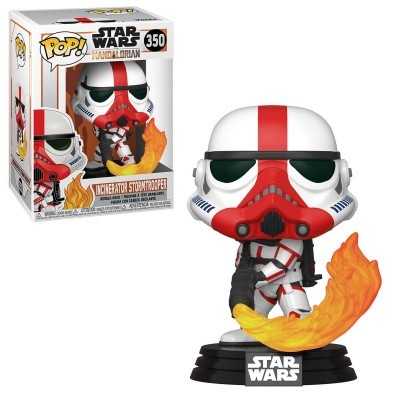 Funko! Pop Star Wars Mandalorian Incinerator Stormtrooper #350