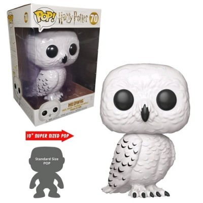 Funko! Pop Harry Potter Hedwig Supersized 10 Polegadas