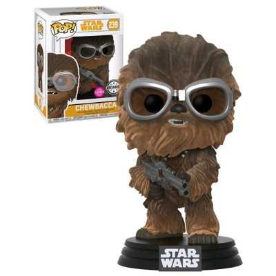 Funko! Pop Star Wars Chewbacca Goggles Flocked Exclusive