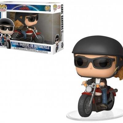 Funko! Pop Marvel Captain Marvel Carol Danvers on Motorcycle #57