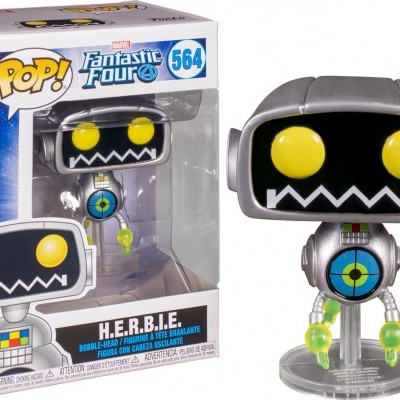 Funko! Pop Marvel Fantastic Four H.E.R.B.I.E #564