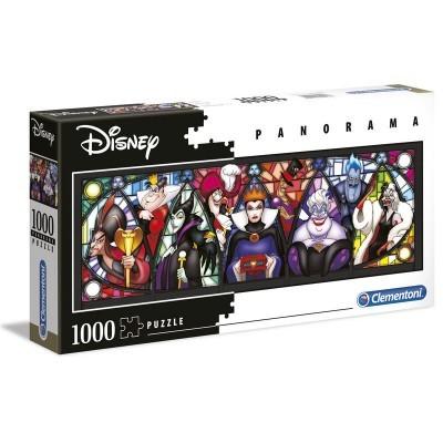 Puzzle Disney Villanos (Panorama) 1000 Peças Clementoni