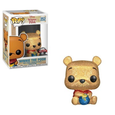 Funko POP! Disney Winnie The Pooh Pooh #252 Diamond Glitter Special Edition
