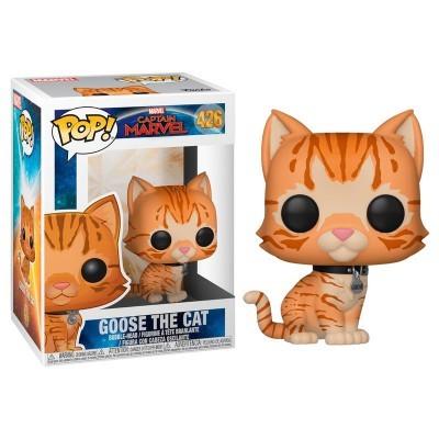 Funko! Pop Marvel Captain Marvel Goose the Cat