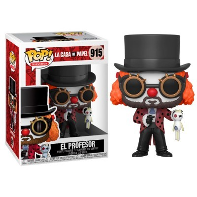 Funko! Pop La Casa de Papel Professor Clown