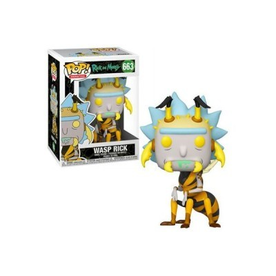 Funko POP! Rick & Morty Wasp Rick #663