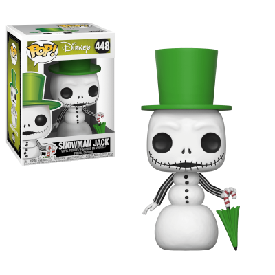 Funko! Pop Disney Nightmare Before Christmas Snowman Jack #448
