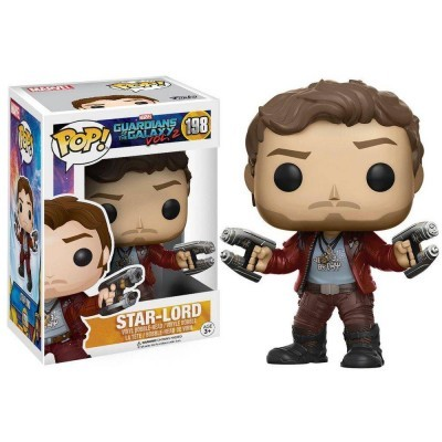 Funko! Pop Guardians of the Galaxy 2 Star-Lord #198