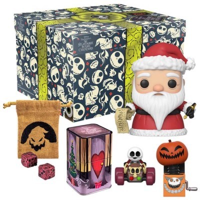 Funko! Pop Disney Nightmare Before Christmas Collector Box Exclusive