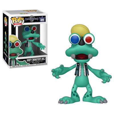 Funko POP! Disney Kingdom Hearts Goofy (Monsters, Inc.) #486