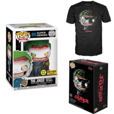 Funko POP! Tees DC The Joker Death Of The Family