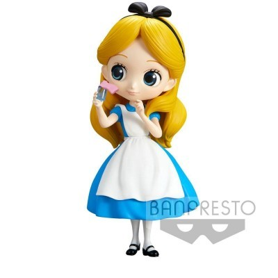 Figura Alice Thinking Time Q Posket A 14cm