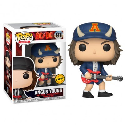 Funko! Pop AC/DC Angus Young Chase #91
