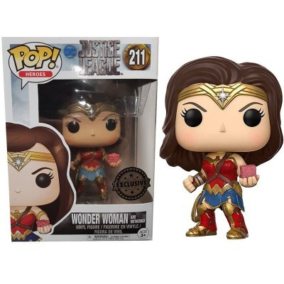 Funko POP! Justice League Wonder Woman #211 Exclusive