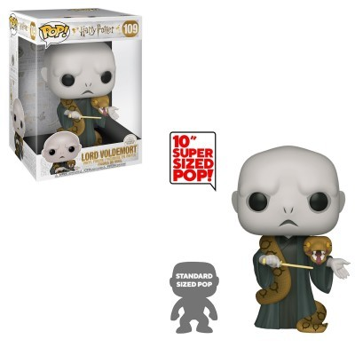 Funko POP! Harry Potter Lord Voldemort Supersized 10''  #109