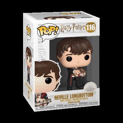 Funko POP! Harry Potter Neville Longbottom w/ Monster Book #116
