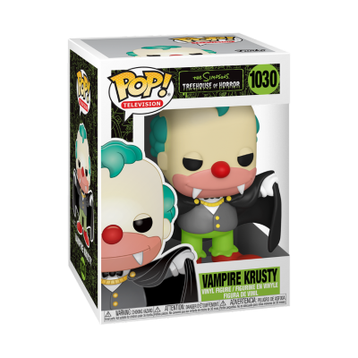 Funko POP! The Simpsons Treehouse Of Horror Vampire Krusty #1030