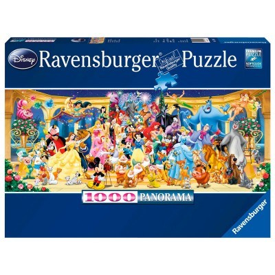 Puzzle Disney (Panorama) 1000 Peças Ravensburger