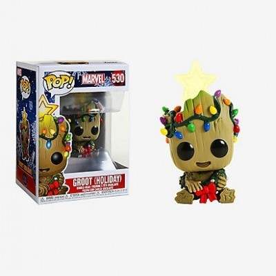 Funko! Pop Marvel Holiday Baby Groot (Holiday)