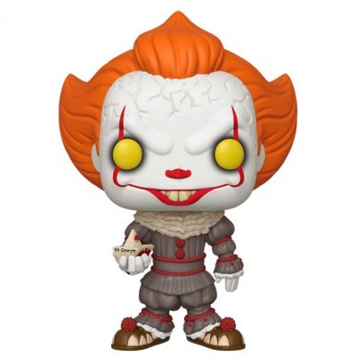 Funko! Pop IT Chapter Two Pennywise with Boat Supersized 10 Polegadas