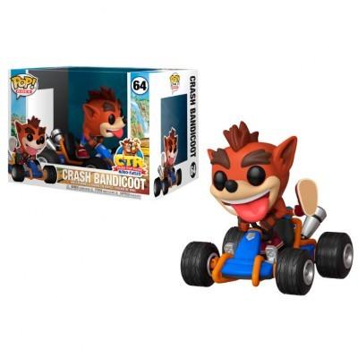 Funko! Pop Ride Crash Team Racing Crash Bandicoot