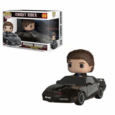 Funko! Pop Ride Knight Rider Michael Knight with KITT