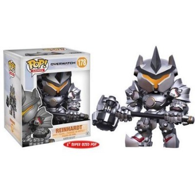 Funko! Pop Overwatch Reinhardt Supersized