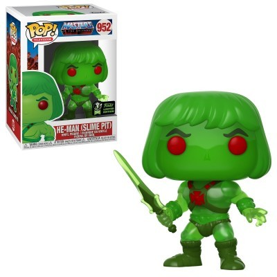 Funko POP! Television Master Of The Universe He-Man (Slime Pit) #952 ECCC2020 Exclusive
