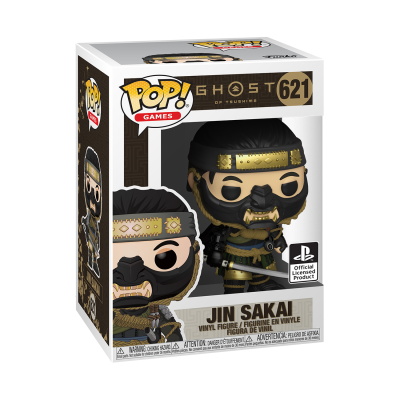 Funko POP! Games Ghost Of Tsushima Jin Sakai #621