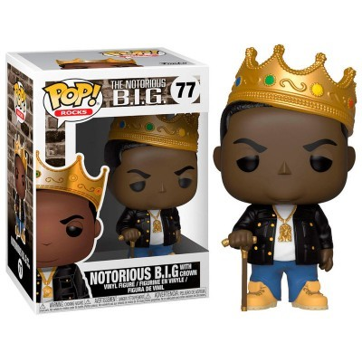 Funko! Pop Notorious B.I.G. with Crown #77