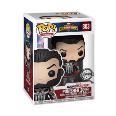 Funko! Pop Games Marvel Contest Of Champions Punisher  Exclusive #303