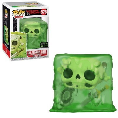 Funko POP! Games Dungeons & Dragons Gelatinous Cube #576 ECCC2020 Exclusive
