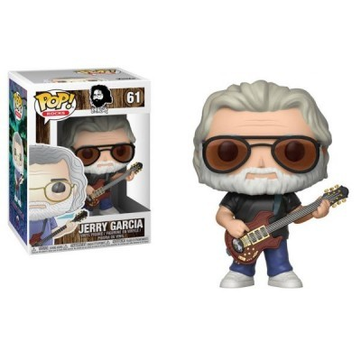 Funko! Pop Rocks Jerry Garcia #61