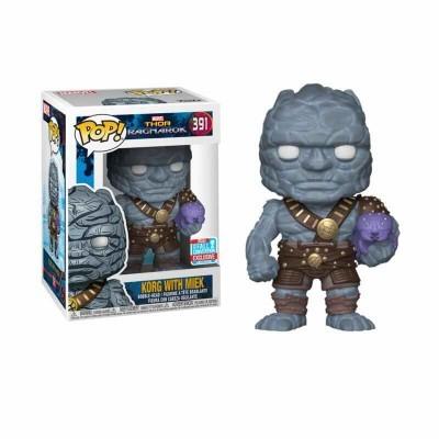 Funko! Pop Thor Ragnarok Korg With Miek Exclusive #391