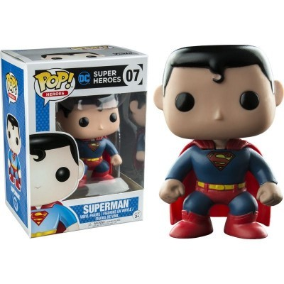 Funko POP! DC Super Heroes Superman #07