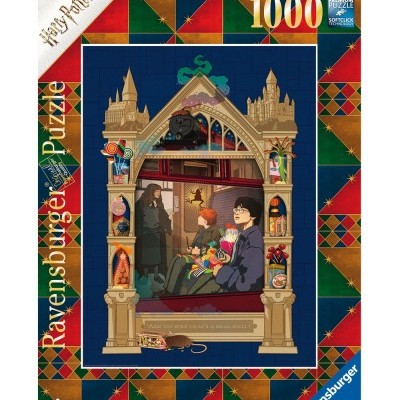 Puzzle Harry Potter (On The Way To Hogwarts) 1000 Peças Ravensburger