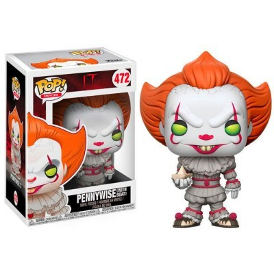 Funko! Pop IT PennyWise With Boat