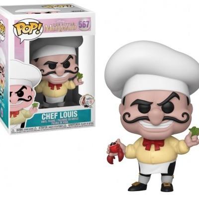 Funko! Pop Disney Little Mermaid Chef Louis