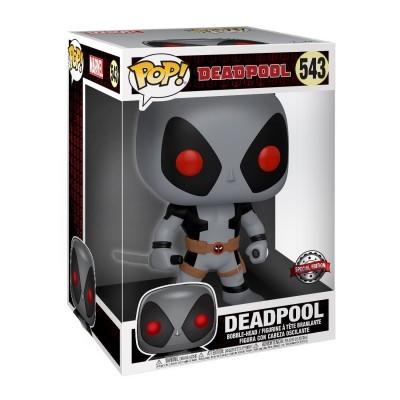 Funko! Pop Deadpool Two Swords Supersized 10 Polegadas #543 GREY