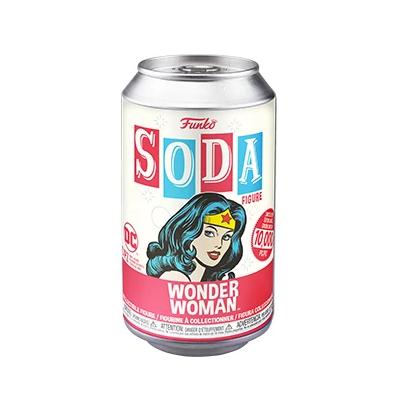 Funko SODA Wonder Woman c/ Possibilidade de Chase (Edição Limitada a 10000 un)