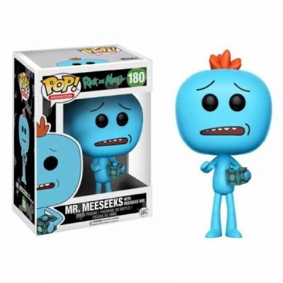 Funko POP! Rick & Morty Mr. Meeseeks With Meeseeks Box #180