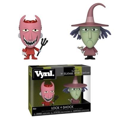 Funko! Vynl The Nightmare Before Christmas Lock + Shock