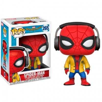 Funko! Pop Marvel Spiderman HC Spiderman With Headphones