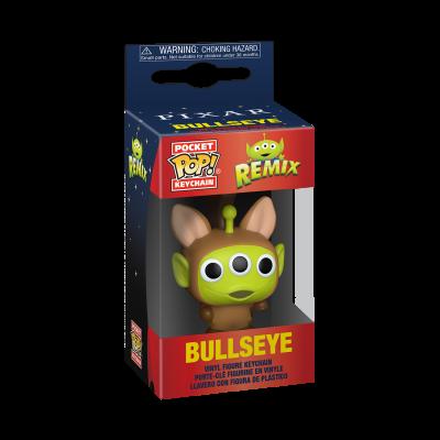 Funko Pocket POP! Keychain Disney Pixar Alien Remix Bullseye