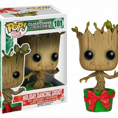 Funko! Pop Marvel Holiday Dancing Groot (Holiday) #530