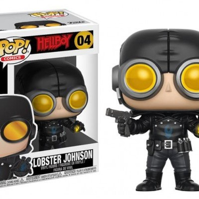 Funko! Pop Comics Hellboy Lobster Johnson #04